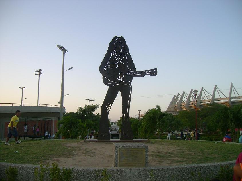 Shakira Statue Colombie Barranquilla Portfolio