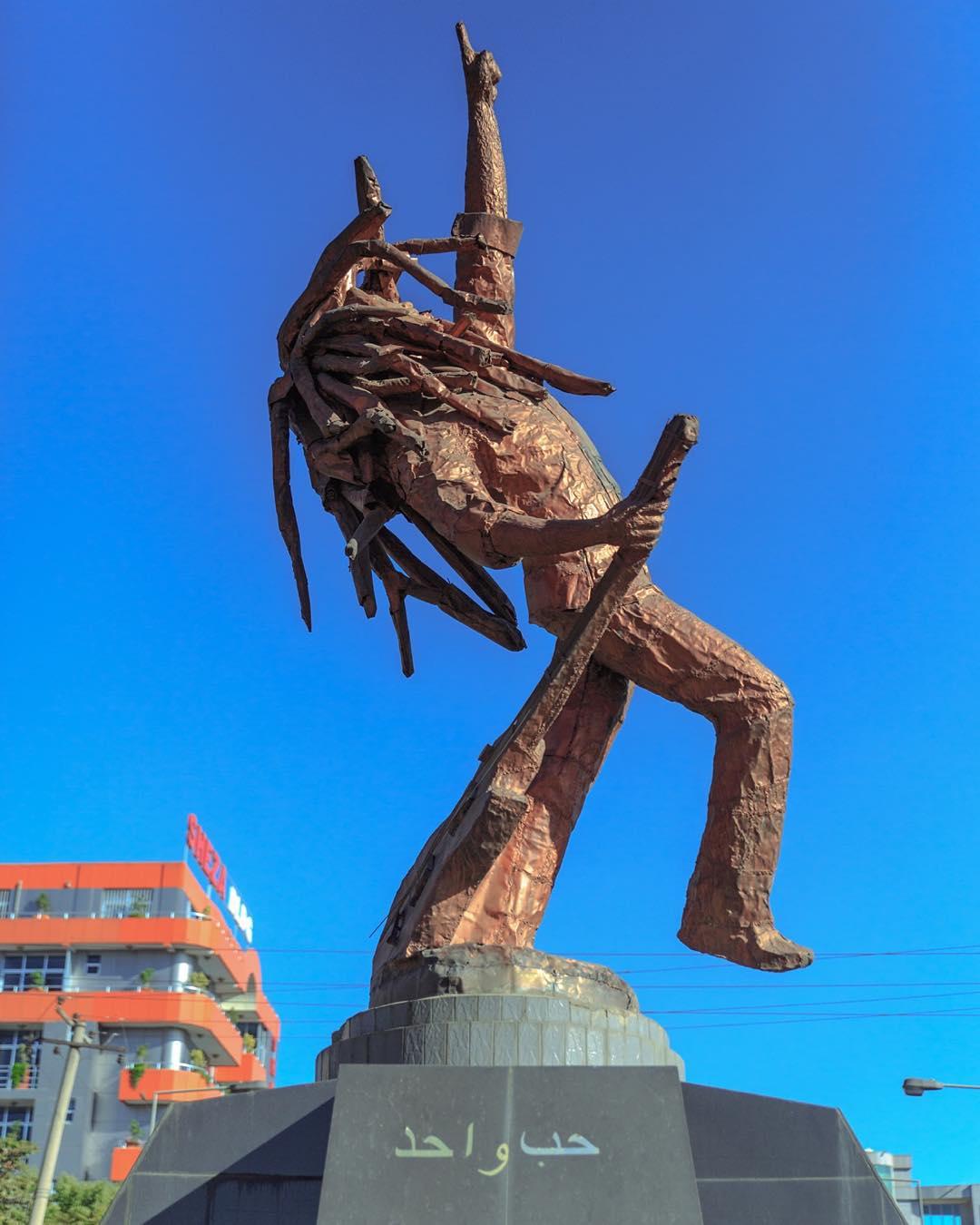 Bob Marley Statue Ethiopie Architecture Portfolio