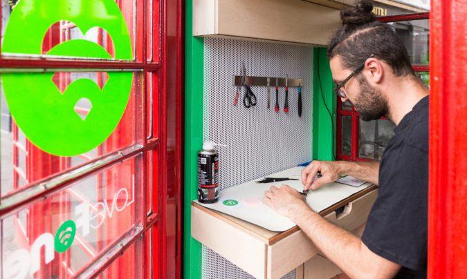 Londres patrimoine Lovefonbox cabines téléphoniques