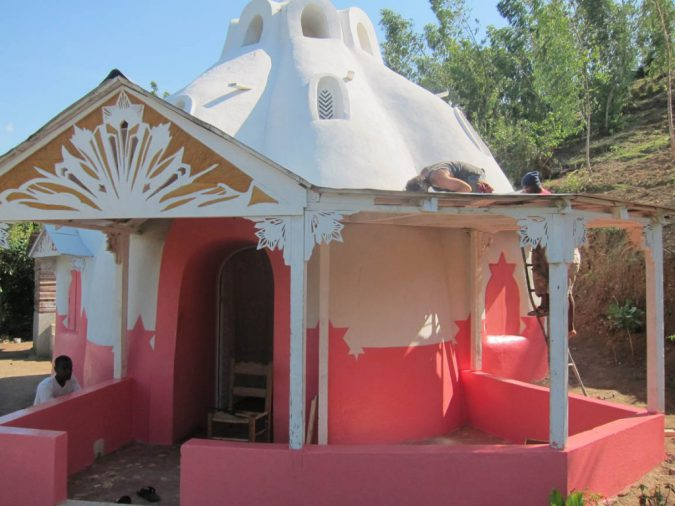 Swoon Konbit Shelter Haiti Tremblement de terre Résilience