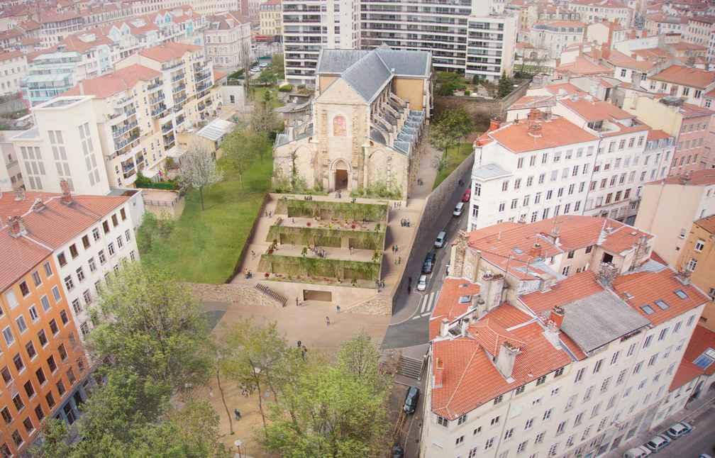 Eglise Saint-Bernard Lyon Centre Affaires Architecture Eglise Portfolio