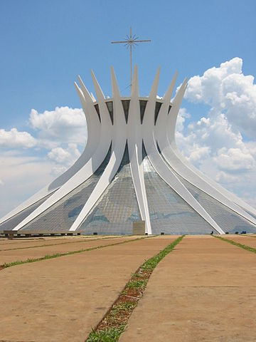 Oscar Niemeyer Brasilia Cathédrale Église Brésil Architecture Portfolio
