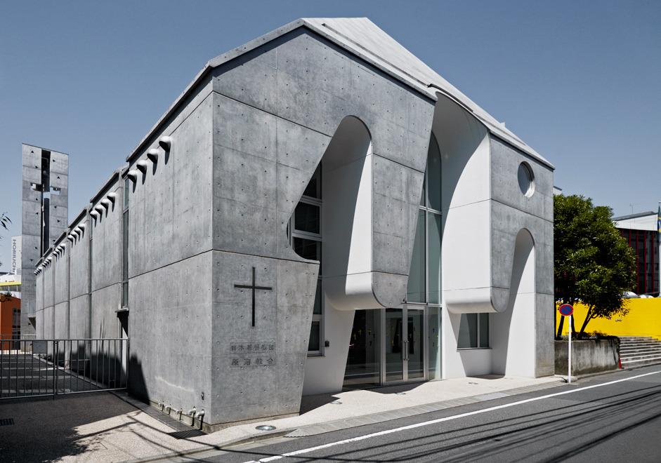 Harajuku Church Tokyo Photo Jonathan Savoie Japon Eglise