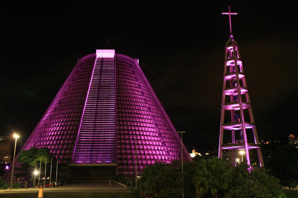 Rio Cathedrale Sao Sebastiao Eglise Architecture Portfolio Brésil