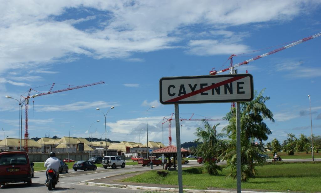 Guyane mouvement social Cayenne