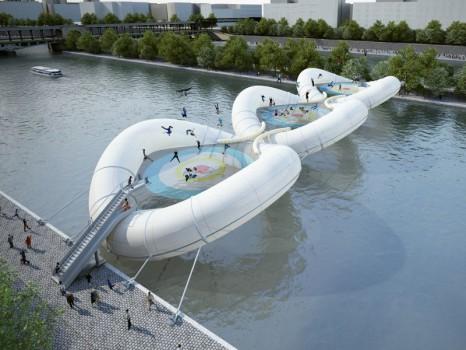 Pont trampoline Faire Paris