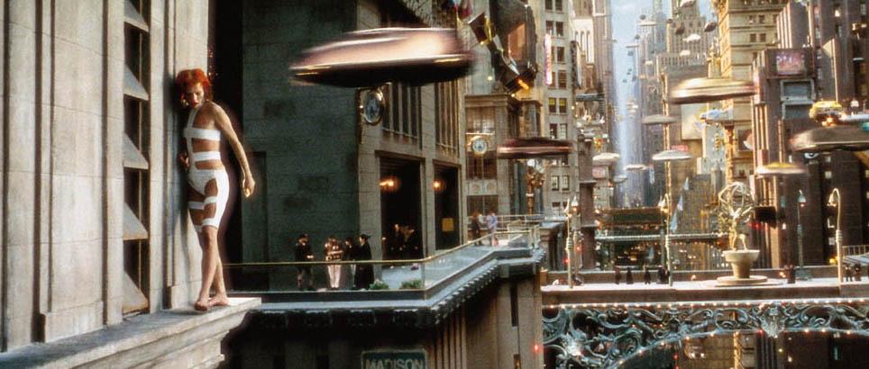 cinquieme élément ville science fiction