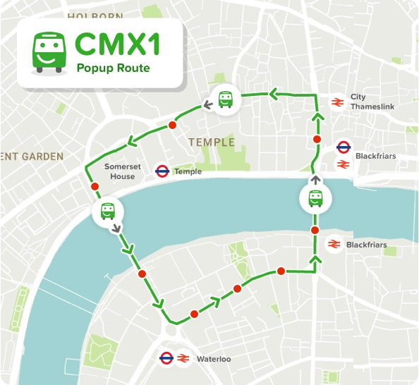 Citymapper bus intelligents déplacements ville Londres