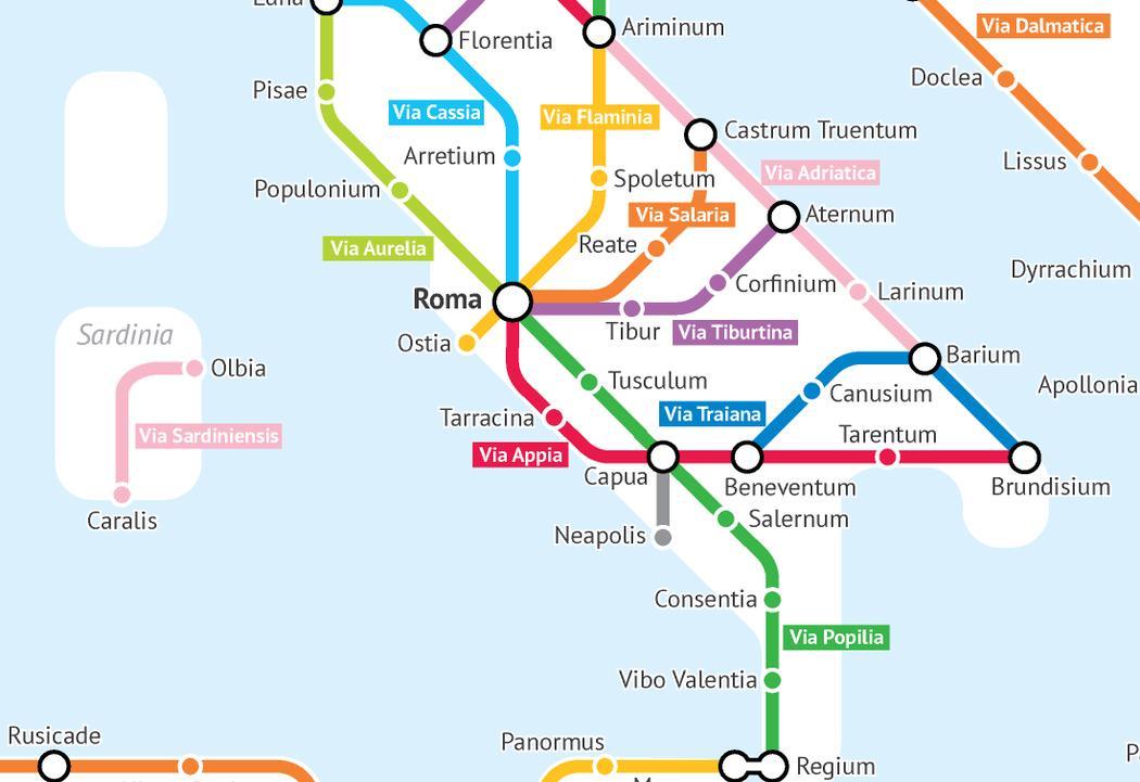 plan - métro - rome - antique - http://sashat.me/ - Alexandr Sasha Trubetskoy