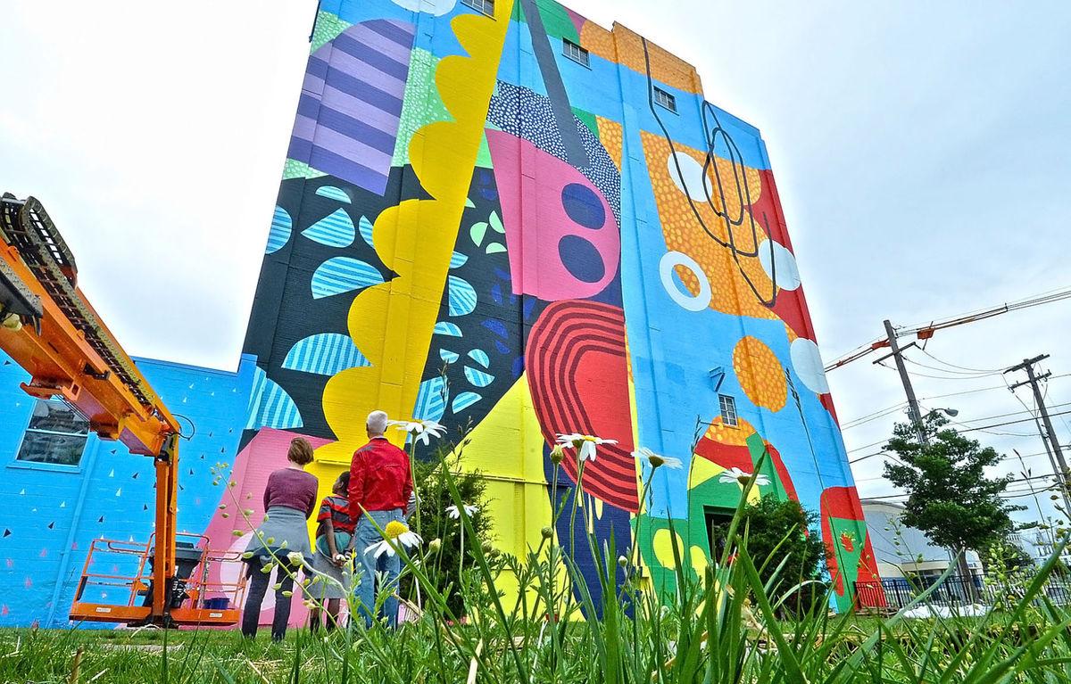 Hagerstown Hense Street Art USA Maryland Portfolio Art Urbain