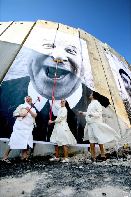 Face 2 Face Project JR Palestine Portfolio Religions