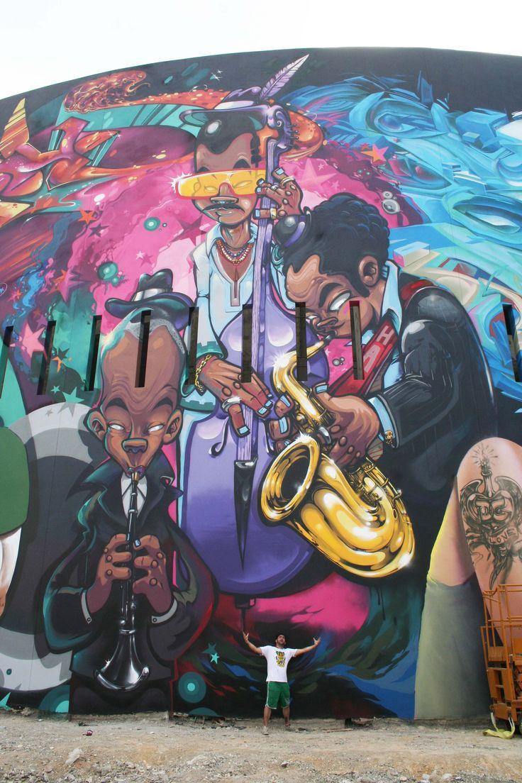 portfolio streetart musique