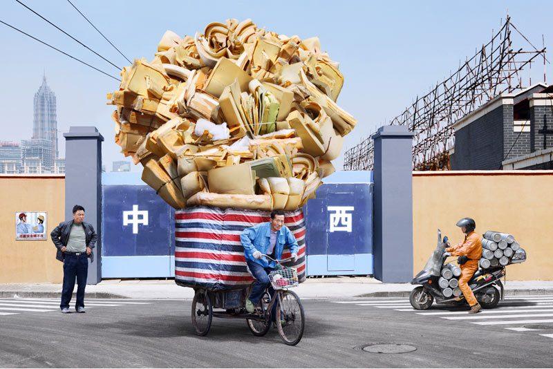 Alain Delorme Portfolio Shangai Transporteurs Totem