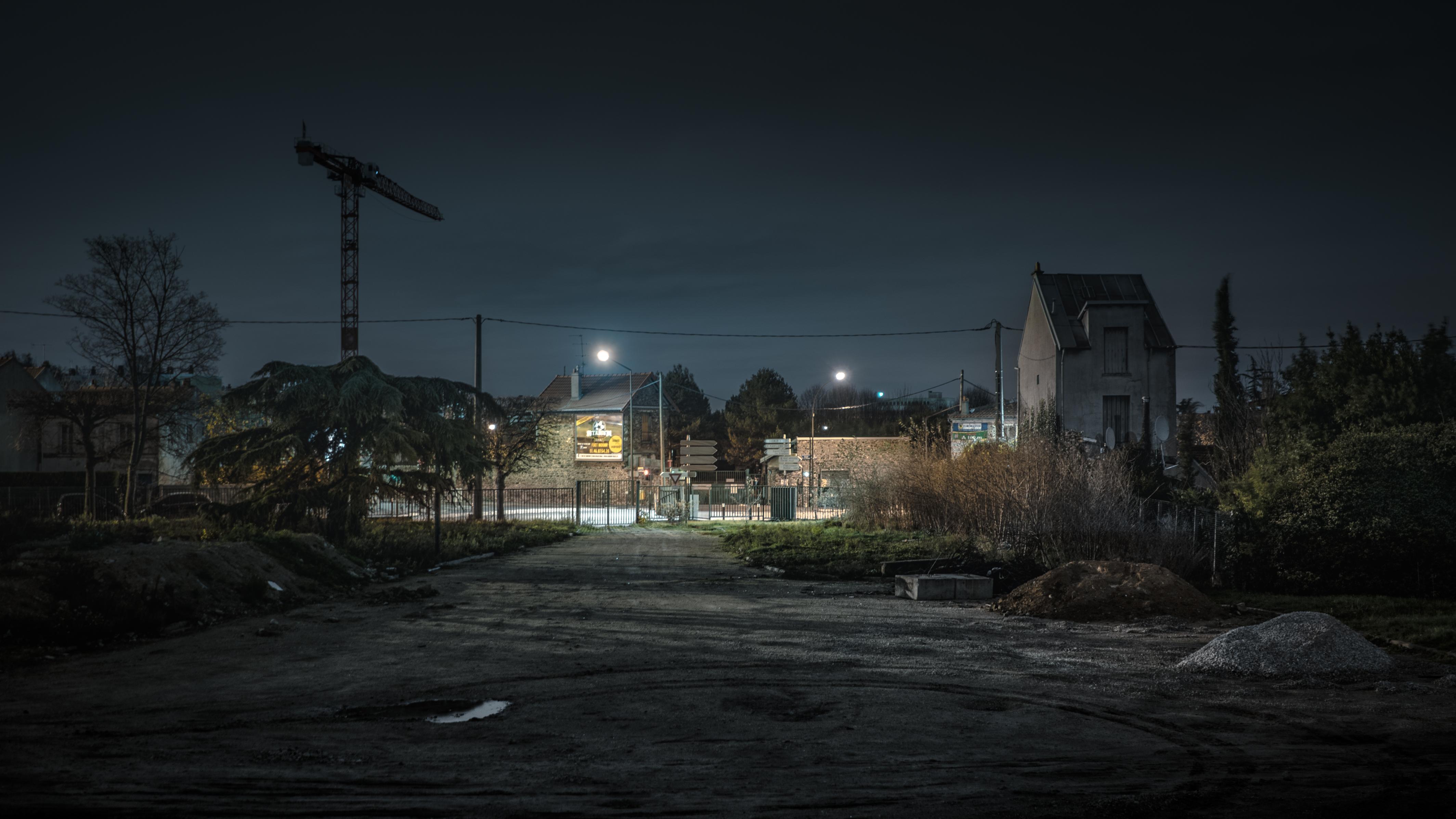 Alphaville Rémy Soubanère Banlieue Portfolio Nuit Orwell