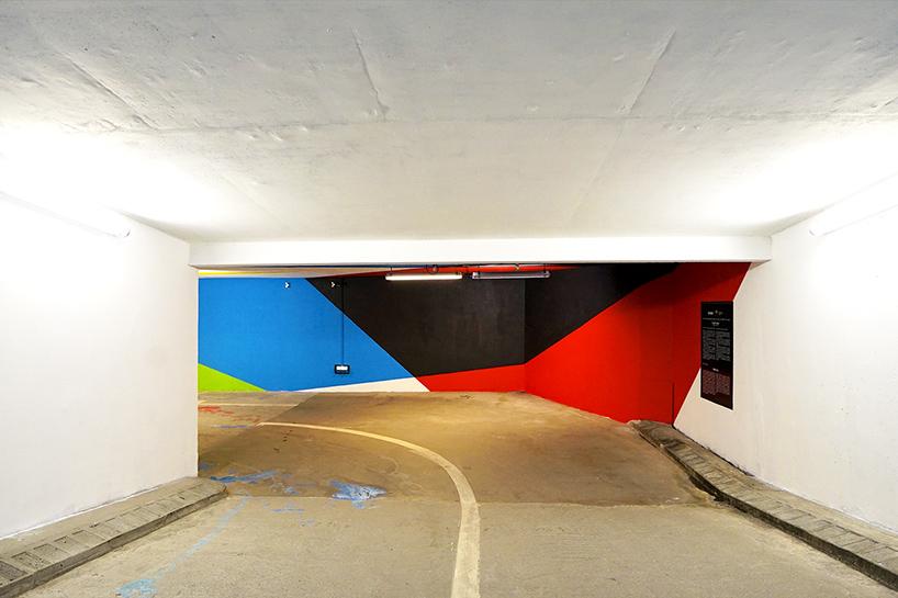 Mont Blanc Saint-Gervais-les-Bains Parking Street Art 2KM3 Brève