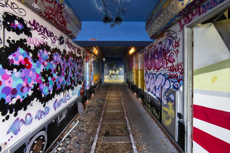 100 street artist Maison des Arts et Métiers Ecole Abandonnée Street Art Paris Portfolio