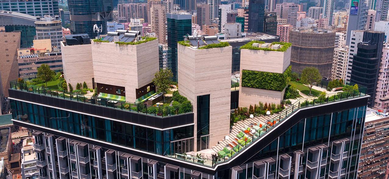 Skypark Hong Kong Jardin Oasis Rooftop