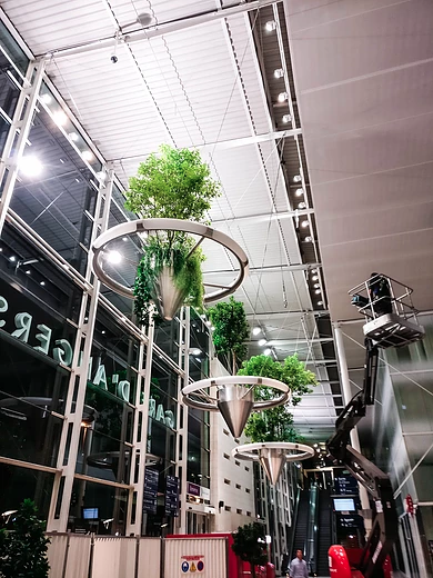 Alexis Tricoire Studio Atech Gare d'Angers Vegetalisation urbaine SNCF Pays de la Loire