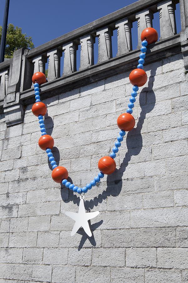 Namur Belgique Bijoux Sculpture Liesbet Bussche Art Quai Colliers