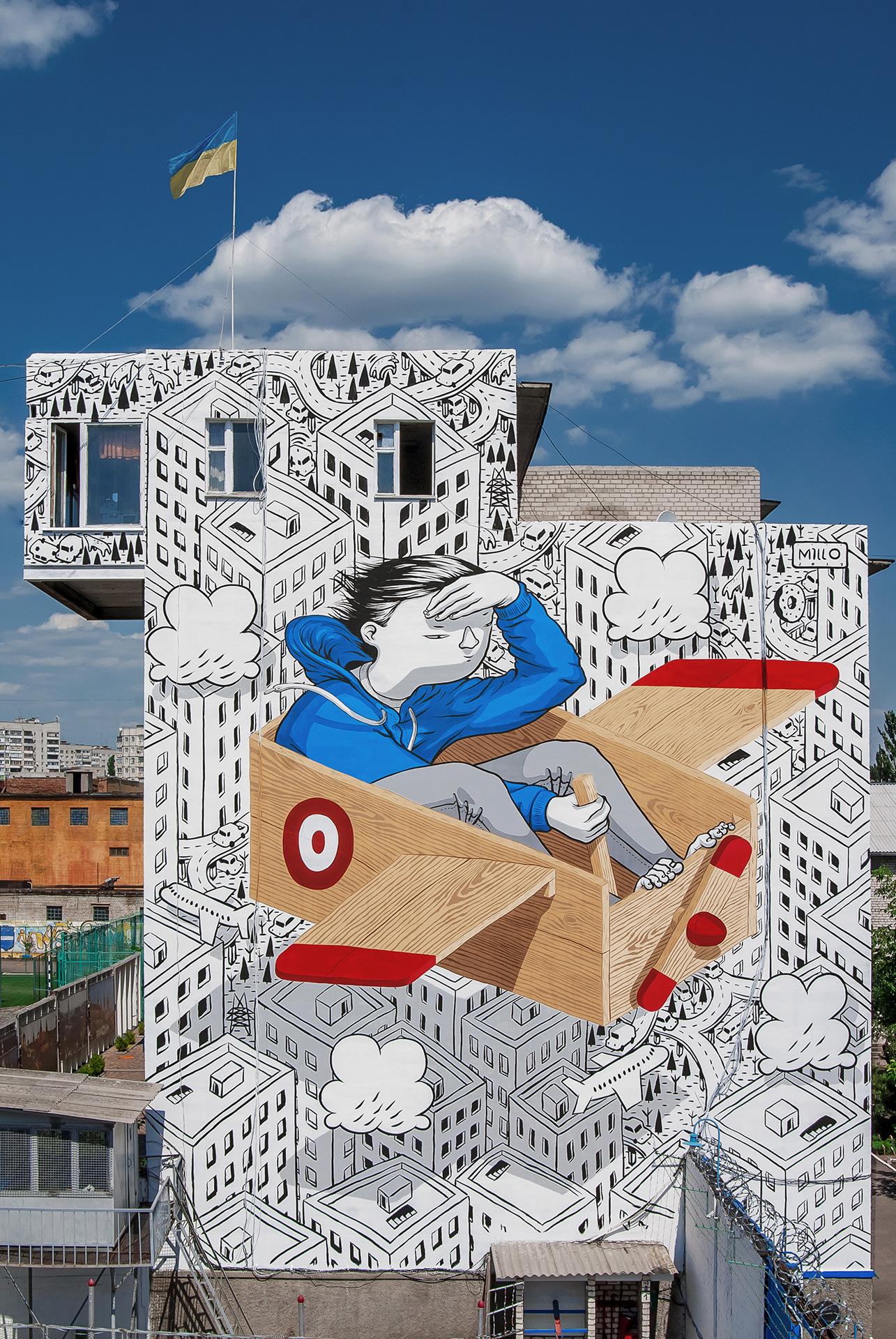 Prison Millo Krementchouk Ukraine Street Art Portfolio
