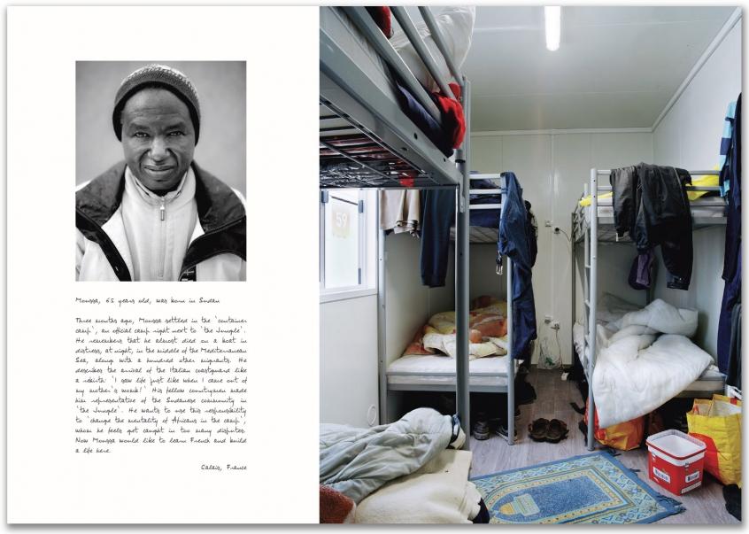 MIgrants Bruno Fert Calais Itinéraires Intérieurs Brève