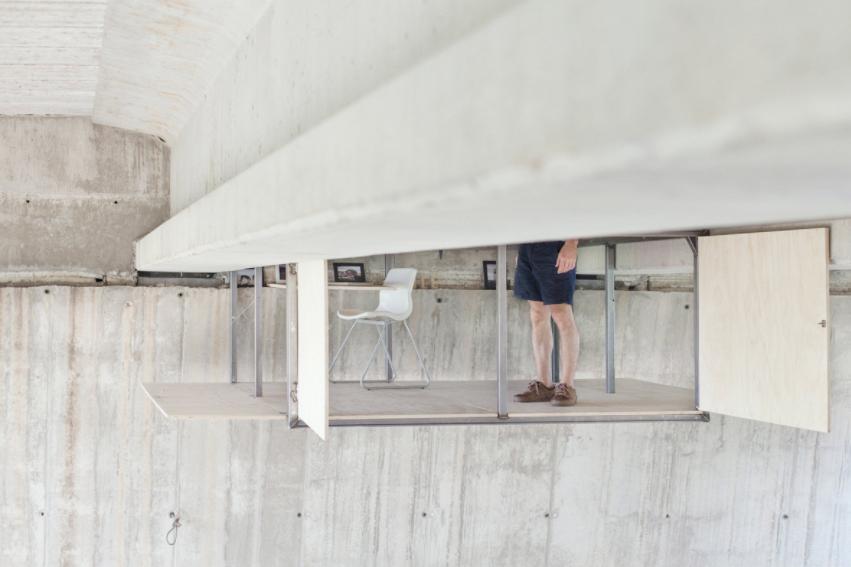 Fernando Abellanas Valence Espagne Pont Studio Design Cabane Suspendue