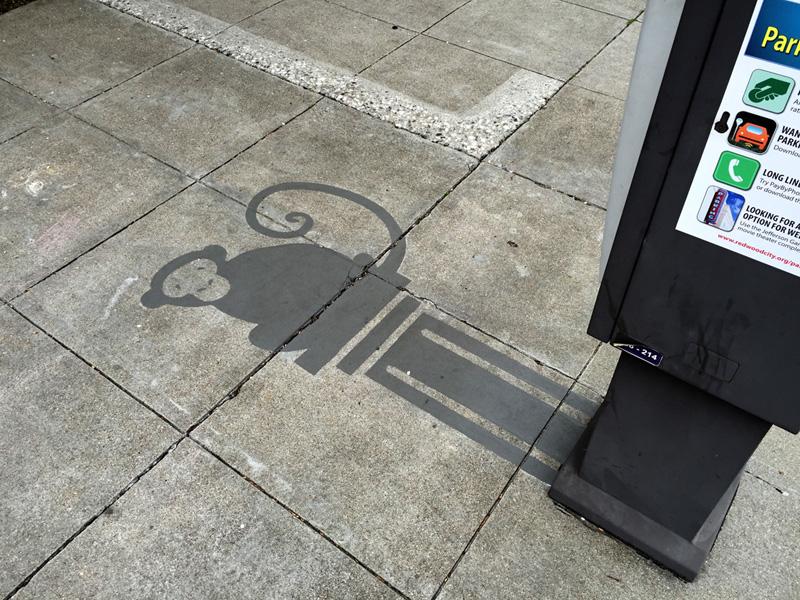 Damon Belanger Street Art Ombres Redwood Californie Portoflio Mobilier urbain