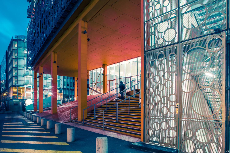 Jussieu Paris Université Pierre et Marie Curie  Franck Bohbot Photographie Portfolio Couleurs Pilules
