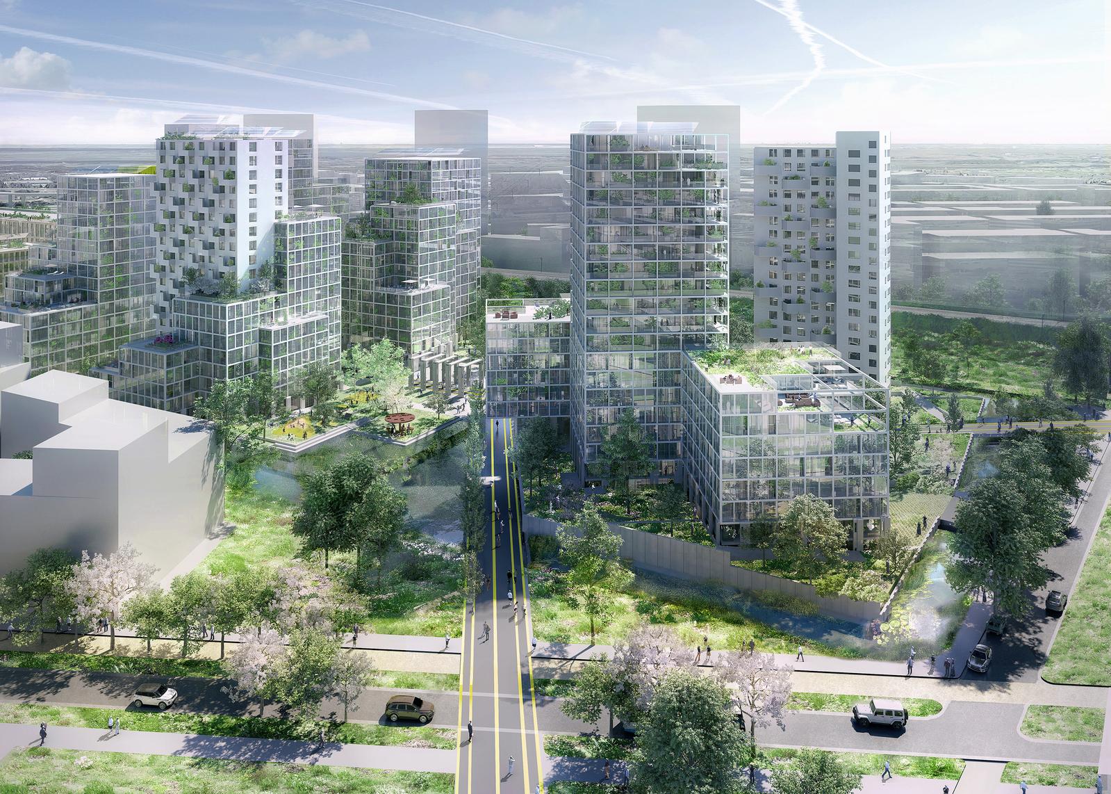 Amsterdam OMA Architectes Prison Ecologie Quartier Environnement