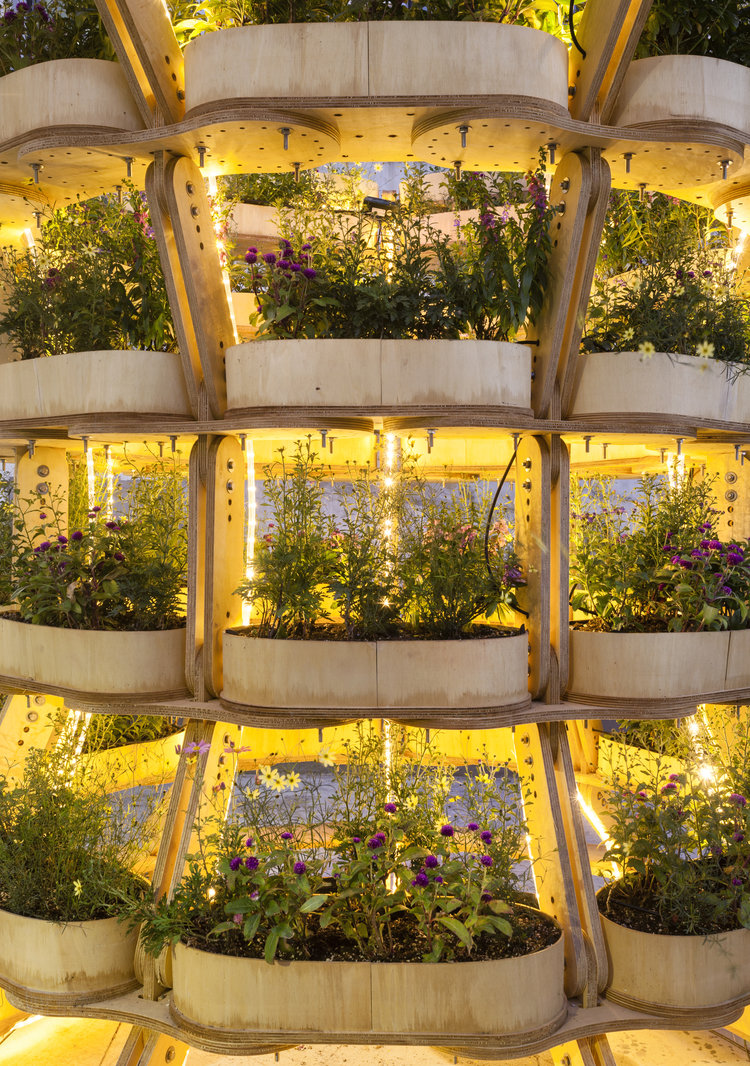 Sine Lindholm et Mads-Ulrik Husum Danemark Biennale de Seoul Jardin Construction Kit Ecologie Ikea