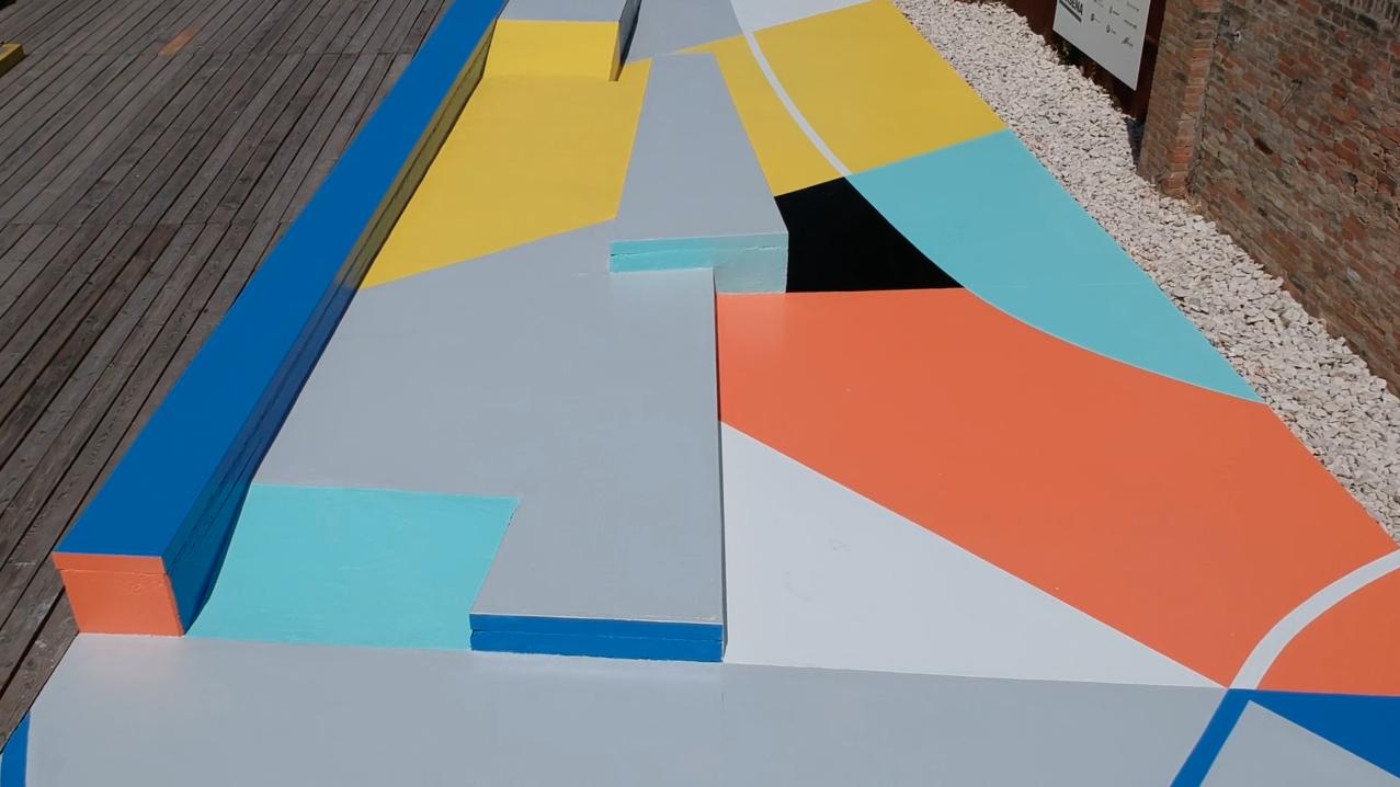 Gummy GUE Marco Mangione Ravenne Italie Ravenna Pop Up Skate Park Urbain Brève Sport
