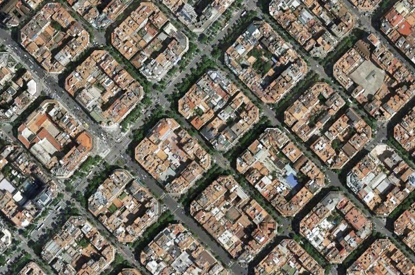 Carte Eixample Barcelone.Catalogne Et Identite Entre Richesses Architecturales Et