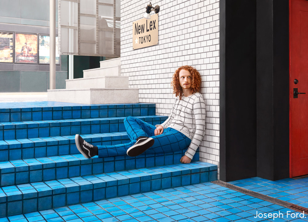 Knitted Camouflage  Photographie Nina Dodd Joseph Ford Fusion Urbain Mode