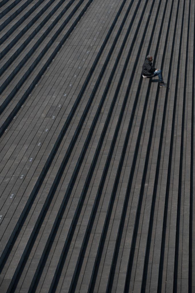 solitude - Bibliothèque François Mitterand - Photo Yannis Papanastasopoulos